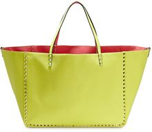 Valentino Large Canvas Reversible Tote - Lyst