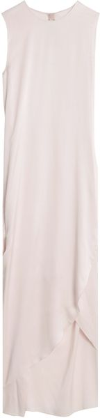Acne Thais Dbl Silk Maxi Dress - Lyst