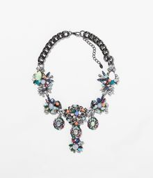 Zara Multicolour Necklace - Lyst
