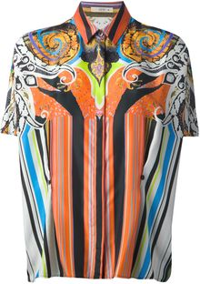 Etro Graphic Print Shirt - Lyst