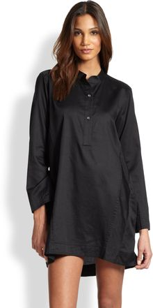 Donna Karan New York Cotton Batiste Sleepshirt - Lyst