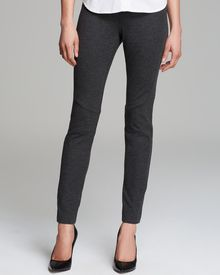 DKNY Pull On Leggings with Curved Seam Details - Lyst