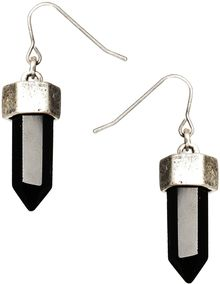 Asos Semi Precious Drop Earrings - Lyst