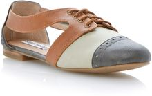 Steve Madden Cori Almond Toe Flat Oxford Shoes - Lyst