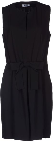 Moschino Cheap & Chic Short Dress - Lyst
