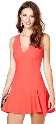 Nasty Gal Make Way Skater Dress - Lyst