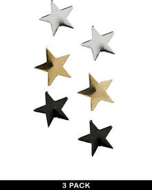 Asos Earring Pack with Stars - Lyst