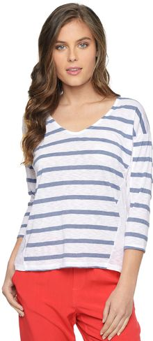 Splendid Canyon Stripe Chambray Dolman - Lyst