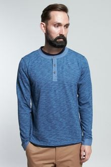Vanishing Elephant Henley - Lyst