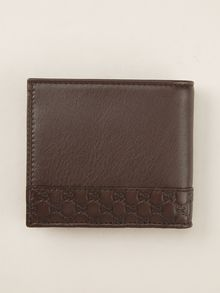 Gucci Embossed Detail Wallet - Lyst