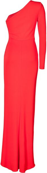Elie Saab Ruched Jersey One Sleeve Gown - Lyst