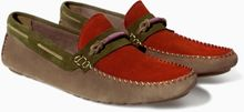 Zara Moccasin with Ribbon - Lyst
