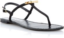 Steve Madden Daisey Toe Post Sandals - Lyst