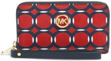Michael Kors Michael Jet Set Travel Deco Multi Function Phone Case - Lyst