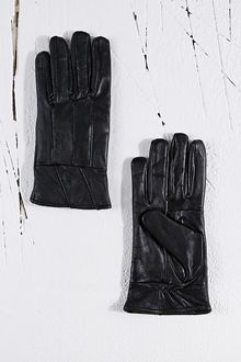 Vintage Renewal Leather Gloves in Black - Lyst