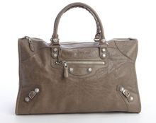Balenciaga Distressed Lambskin Large Giant Work Bag - Lyst