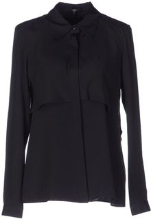 Tibi Long Sleeve Shirt - Lyst
