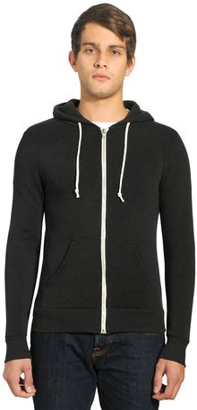 Alternative Rocky Eco Fleece Zip Hoodie Sweatshirt - Lyst
