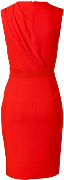 Giambattista Valli Draped Sheath Dress - Lyst