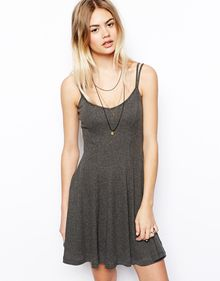 Asos 90s Dress with Double Strap - Lyst