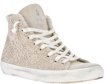 Leather Crown Lace Sneaker - Lyst