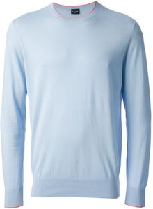 PS by Paul Smith Long Sleeve Sweater - Lyst