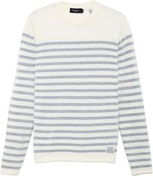 Paul Smith Crew Neck Stripe Sweater - Lyst