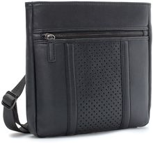 Zara Mini Perforated Messenger Bag - Lyst