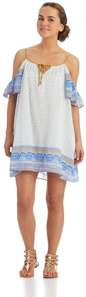 Free People Cold Shoulder Dress - Lyst