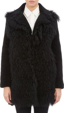 Opening Ceremony Chip Mongolian Overcoat - Lyst