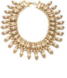 Tory Burch Candelaria Bib Necklace - Lyst