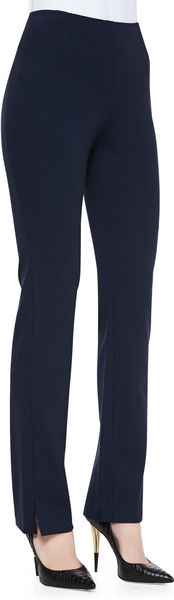 Donna Karan New York Slim Splitcuff Pants - Lyst