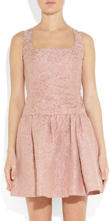 RED Valentino Jacquard Dress - Lyst