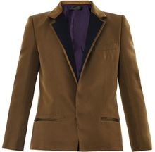 Haider Ackermann Essex Grosgrain Silk Jacket - Lyst