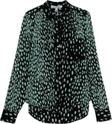 Elizabeth And James Gaby Printed Ls Shirt - Lyst