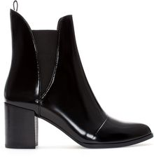 Zara Block Heel Ankle Boot - Lyst