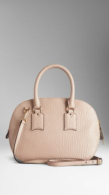 Burberry The Small Orchard in Vintagefinish Signature Grain Leather - Lyst