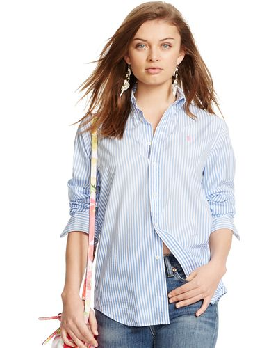 Why a Blue & White Striped Shirt Is Your Summer Secret Weapon | Lyst