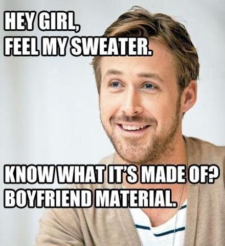 Sweaters Make the Boyfriend