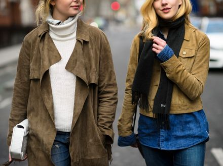 10 New Ways to Wear Suede
