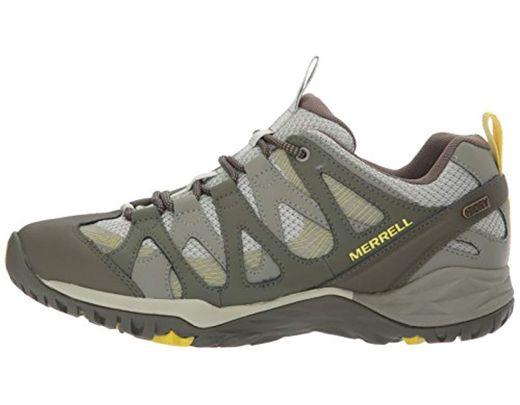 ec080e61 Merrell Siren Hex Waterproof Hiking Shoe, Olive, 8.5 M Us in Green ...