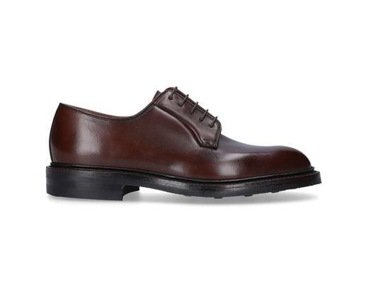 7ead985a0b9e6 Crockett and Jones Business Shoes Derby Lanark 3 in Brown for Men - Lyst