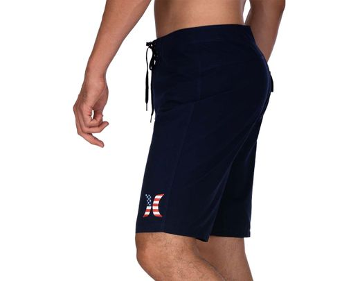 ececdadc80 Hurley Americana Icon Solid Board Shorts in Blue for Men - Lyst