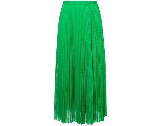 0184dd79e Falda midi plisada Marco De Vincenzo de color Verde - Lyst