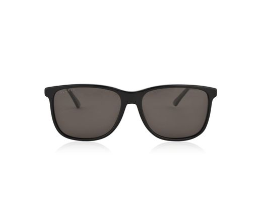52ab0c5a23 Lyst - Gucci Gg0017s Specialised Fit Rectangular Sunglasses in Black ...