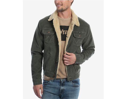 1c046fa1 Wrangler Heritage Sherpa Lined Corduroy Jacket for Men - Lyst