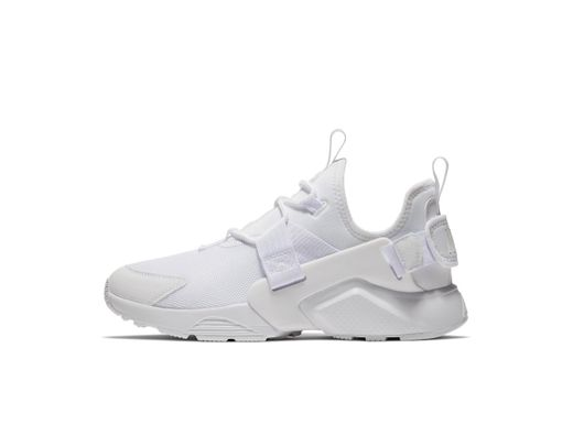 0618689c1e16a Long-Touch to Zoom. Nike - White Air Huarache City Low Women s Shoe - Lyst