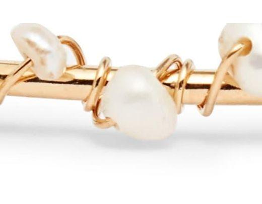 59460ba7b0c453 Gas Bijoux Calliope Cuff Bracelet in Metallic - Lyst