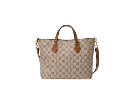 9b85268ef93 Lyst - Gucci Small Eden Canvas Tote in Natural