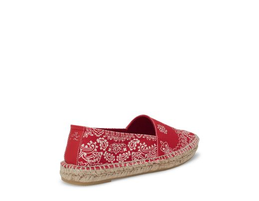 Polo Ralph Red Lauren Birna Espadrille In Canvas Lyst H9IE2D